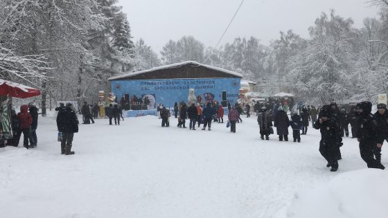 Ежегодная Московская лыжня. Аренда звука и сцены